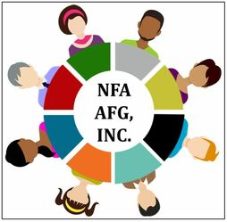 Diverse group of people seated at a round table - NFA AFG Inc Webpage
